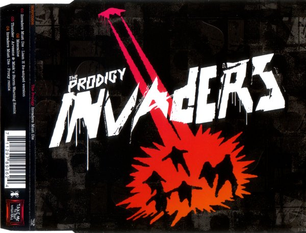 The Prodigy Singles (Frontal – CD) Cover Art (1991 – 2015) | The