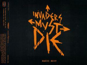 Invaders Must Die (HOSPCDS01-CDR)